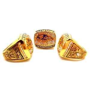 2000 Baltimore Ravens Championship ring NFL