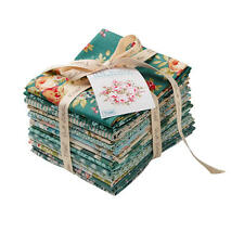 Tilda TEAL Bundle Spring - 14 Stoffe je 27 x 50 cm - Stoffpaket Fat Eighths