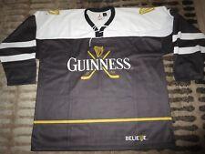 Guinness Irish Stout Beer Ice Hockey Jersey XL mens