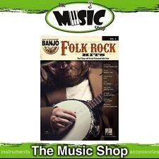 New Folk Rock Hits Banjo Play Along Music Book & CD - Volume 3