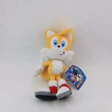 "SEGA GAME SONIC THE HEDGEHOG 8"" TAILS Soft Plush Toy"