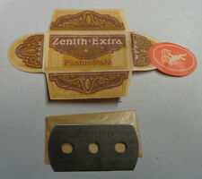 Vintage German Razor Blade ZENITH EXTRA Old Sealed 3-Hole Style