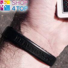 Ellusionist Playing Cartes Silicone Bracelet Noir Accessoire Neuf