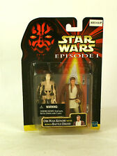 Star Wars EP1 Episode 1 Obi Wan Kenobi / Battle Droid 2 Pack MOC