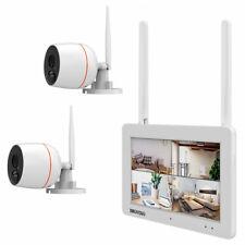 Full HD WLAN Überwachungsset Touchscreen Bewegungssensor Audioübertragung Kamera