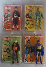 "2013 WGH 8"" BATMAN Removable Cowl JOKER RIDDLER PENGUIN Action Figure Lot of 4"
