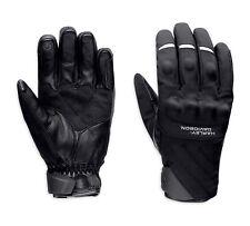 Harley-Davidson Farson textil/cuero Gloves talla M-negro motocicleta guantes