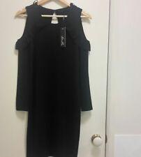 NEW Stella Cold shoulder black dress, size 8
