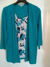 Debenhams Collection All in one top size 14 Nearly New