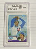 1983 Topps Fergie Jenkins #230 CM 10 GEM MINT CHICAGO CUBS HOF 📈