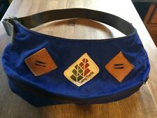 vtg 70s CAMP TRAILS fanny pack hiking day BLUE waist strap hipster USA pouch
