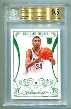 2013-14 PANINI FLAWLESS GIANNIS ANTETOKOUNMPO EMERALD RC #5/5 BGS 9.5 GEM POP 1