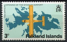 Falkland Islands 1979 SG#360w 3p Stanley Airport Wmk Crown To Right CA  #D18747