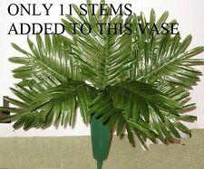 48 Silk Palm Fern Leaf Stems Wholesale,Funerals,Cemeta ry,Weddings,Free Shipping