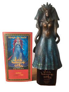 Königin der Nacht Bronzeskulptur Parfum Les beaux Arts Ernst Fuchs + Zertifikat