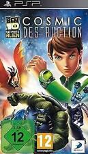 Playstation Sony PSP BEN 10 Ultimate Alien 4 Cosmic Destruction Neuwertig