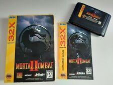 Mortal Kombat II 2 - Sega Mega Drive 32x, Genesis: Modul, Anleitung, Hülle - RAR