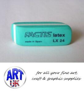 Factis Artists Latex Graphite & Coloured Pencil Eraser/Rubber - LX24