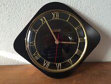 Belle Horloge pendule noire bayard Vintage Des Années 50's 60  70