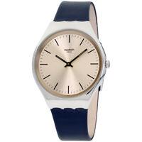 Swatch Skinazul Quartz Movement Grey Dial Men's Watch SYXS115