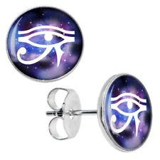 Eye of Horus Stud Earrings Unisex Ra Egypt  Alternative