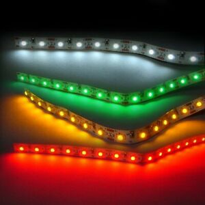Ultra Thin 12V LED Tape White 10 Foot Roll Johnny Law Motors LEDTAP10WT hot rod