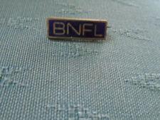VINTAGE BNFL BRITISH NUCLEAR FUELS ENAMEL PIN BADGE