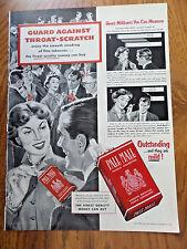 1953 Pall Mall Cigarette Ad