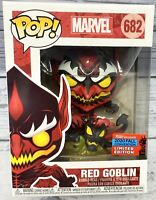Funko POP! Marvel Red Goblin #682 NYCC Fall 2020 Shared Exclusive