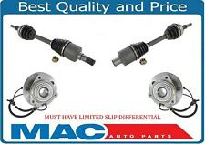 Front CV Axles & Wheel Bearing Assembly For Jeep Commander Grand Cherokee