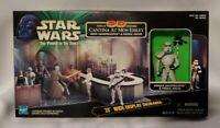 "Star Wars POTF Cantina at Mos Eisley w/ Sandtrooper, Patrol Droid & 25"" Diorama"