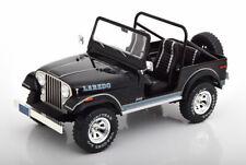 MCG 1976 Jeep CJ-7 Laredo Black 1/18 Scale New Release!