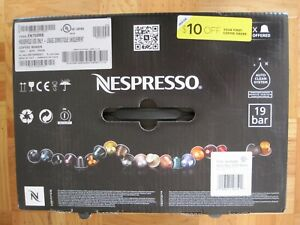 NEW IN BOX DELONGHI NESPRESSO LATTISSIMA PRO ESPRESSO COFFEE MACHINE SILVER