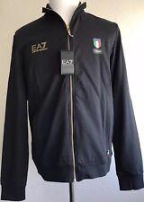 de6a627150be Emporio Armani Ea7 Team ITALIA Mens Sports Jacket Sweatshirt Black S