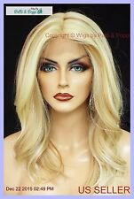 Lace Front Wig HAND TIED FRONT FS613.27 SOFT SEXY CURLS  FAST SHIP US SELL *438