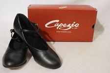 CAPEZIO Tap Jr. Footlight Dance Shoes, Black, Womens Size 8.5M-B25