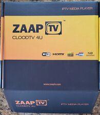 ZAAPTV - CLOODTV 4U IPTV Media Player