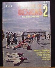 Decade of Designs 2 Over 60 Full Page Plans Soft Cover Flying Models Library