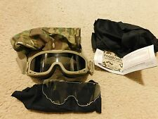 WILEYX SPEAR GOGGLES TAN W/ CLEAN/SMOKE LENS