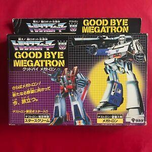Vintage G1 Transformers Takara 1986 - Goodbye Megatron Giftset - With Starscream