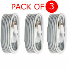 3PCS 3M Long USB LEAD SYNC DATA CABLE CHARGER FOR iPhone 6 PLUS 5 5S iPad Mini