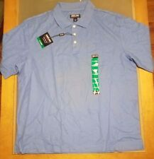 KS KIRKLAND Signature Men's Polo Golf Shirt Short Sleeve Periwinkle  X-Large XL