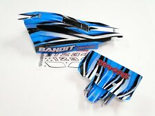 NEW TRAXXAS BANDIT Body & Wing Factory Painted BLUE RB5B