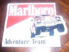 malboro adventure team originale adesivo anni 80