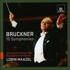 Lorin Maazel, A. Bruckner - 10 Symphonies [New CD]