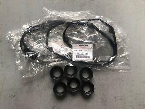 GENUINE Mitsubishi Magna 6G72 / 6G74 Rocker Cover Gasket Kit x 2
