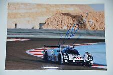 Mark Webber signed 20x30cm Le Mans Foto , Autogramm / Autograph in Person