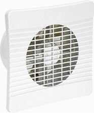 "Airvent On/Off Extractor Fan 6"" 150mm Low Profile - Kitchen/Large Bathroom Wall"
