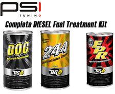 BG PRODUCTS ULTIMATE DIESEL ENGINE FUEL TREATMENT KIT - BG245/ DOC / OIL FLUSH