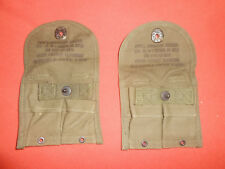 U.S.ARMY:  1950   2 Post  US Army Mint M1 Carbine pouches